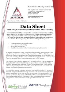 Fire Rating Data Sheet icon